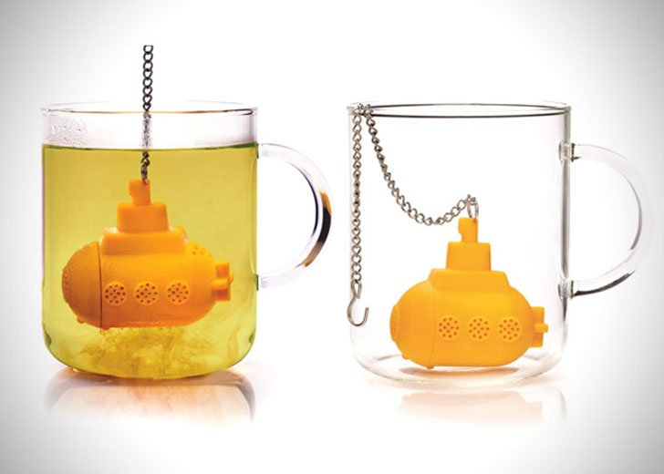 Yellow Submarine Tea Infuser - cutest tea infusers