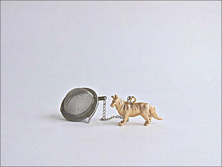 dog tea ball infuser