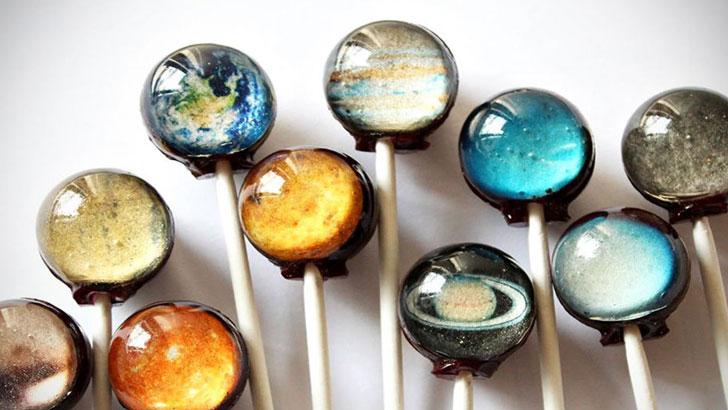 Solar Planet Lollipops - creative gifts for boyfriends