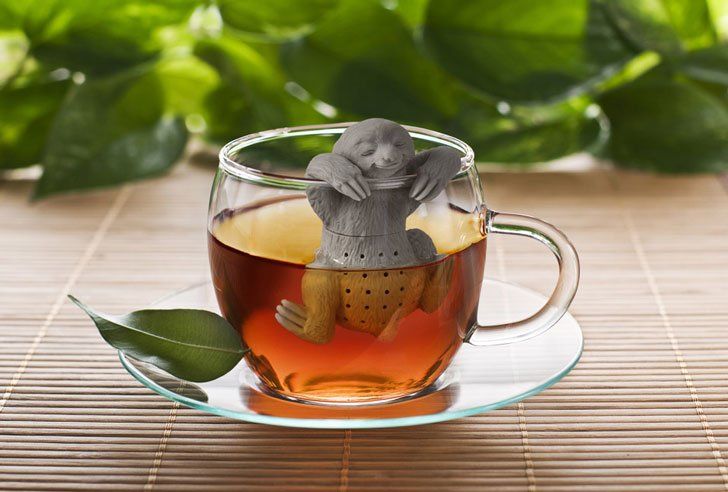 cutest tea infusers - sloth tea infuser