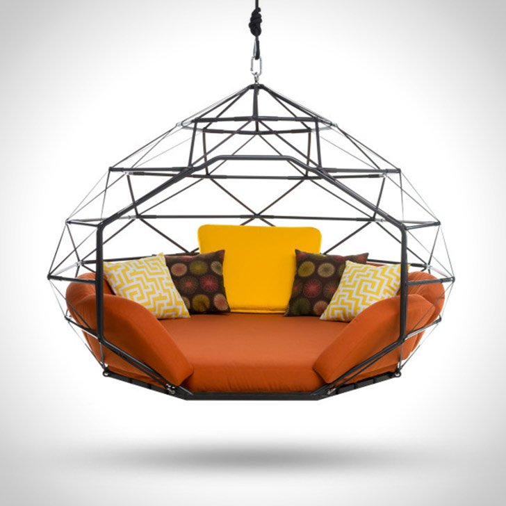 Swinging Couch Zome Awesome Stuff 365