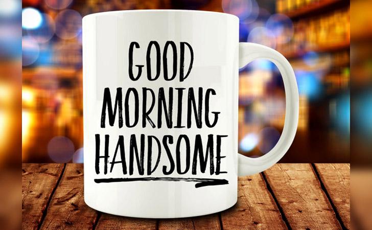 """Good Morning Handsome"" Mug"