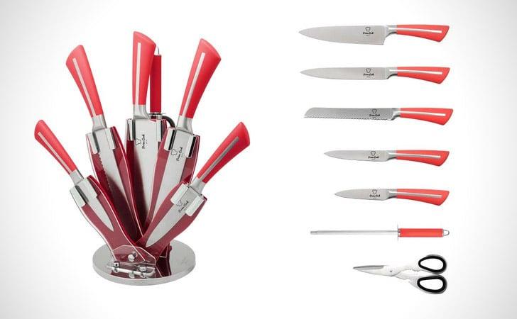 8 Primes Cook Knife Block Set