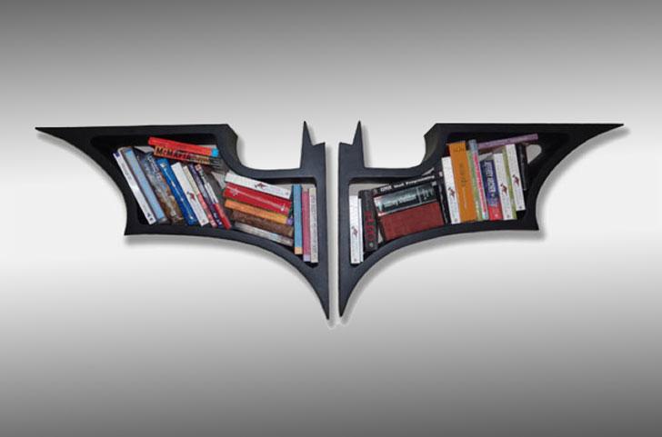 batman bookshelf - Cool bookshelves