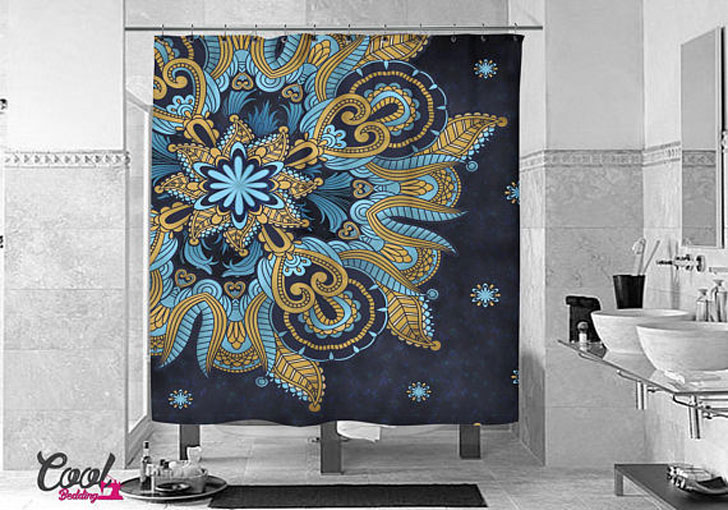 BohoChic Mandala Shower Curtain