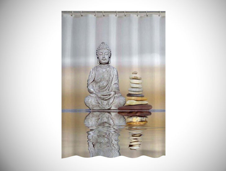 Buddha-Shower-Curtain - Unique Shower curtain