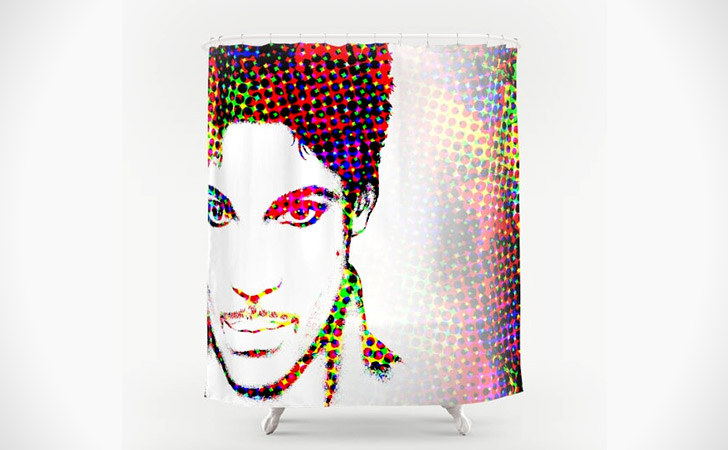 "Digital ""Prince"" Art Shower Curtain"