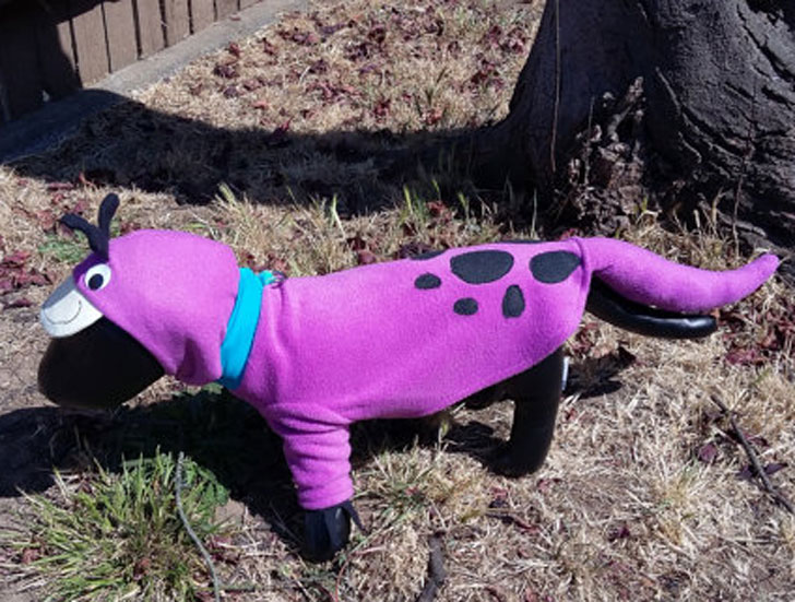 Dino the Flintstone Dog Costume