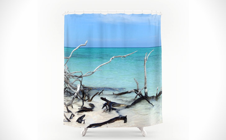 Drift Wood Yeah Shower Curtain