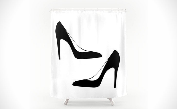 Fashion Heels Shower Curtain