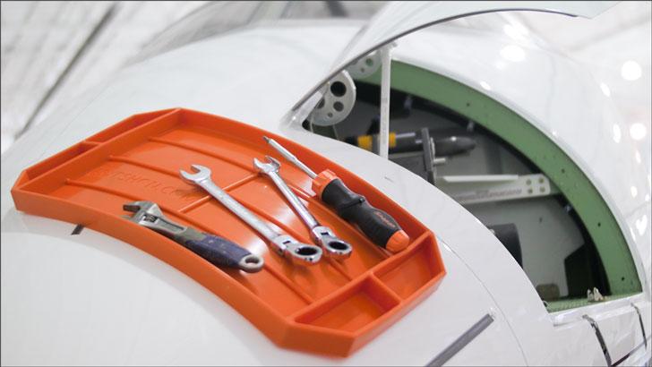 Flexible Non-Slip Tool Tray