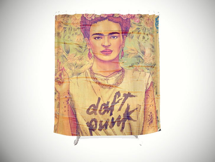 Frida-Kahlo-Shower-Curtains