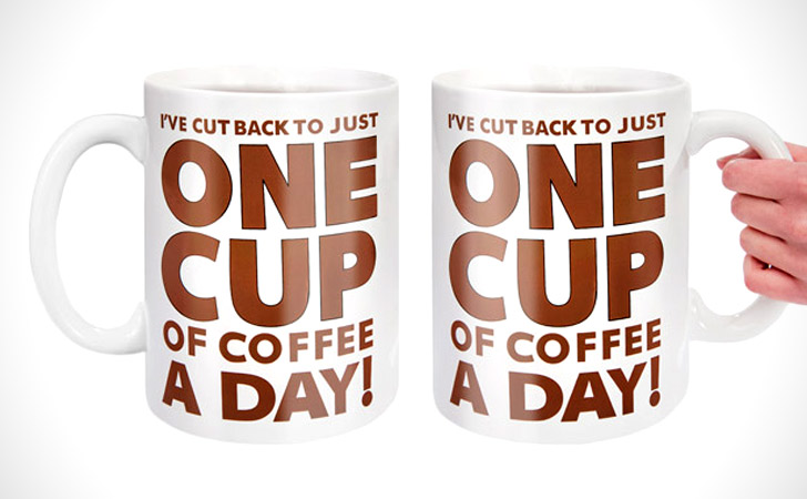 Giant Half Gallon Coffee Mug