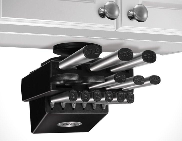 Ginsu Koden Series 14 Pieces Counter Saver Knife Block Set