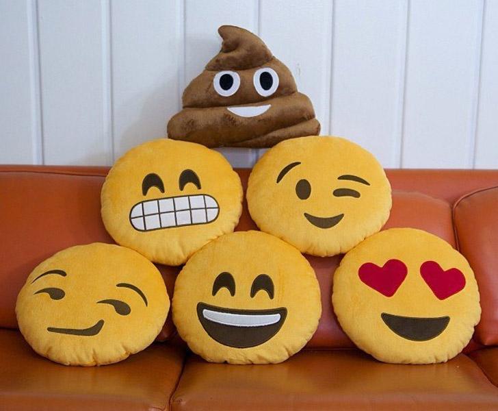Happy Emoji Pillows