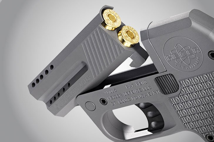 Heifer Double Tap Defense Pistol