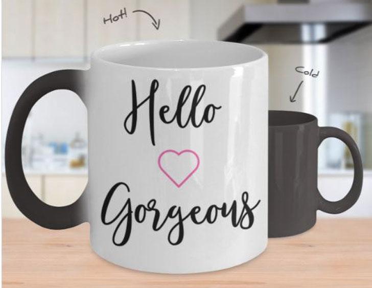 Hello Gorgeous Heat Change Mug