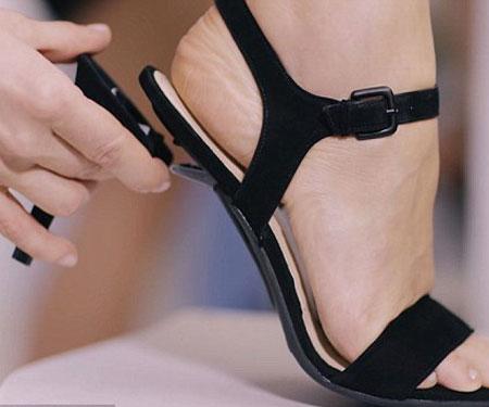 Interchangeable High Heels