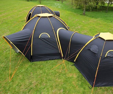 Interconnecting Modular Tent Pods