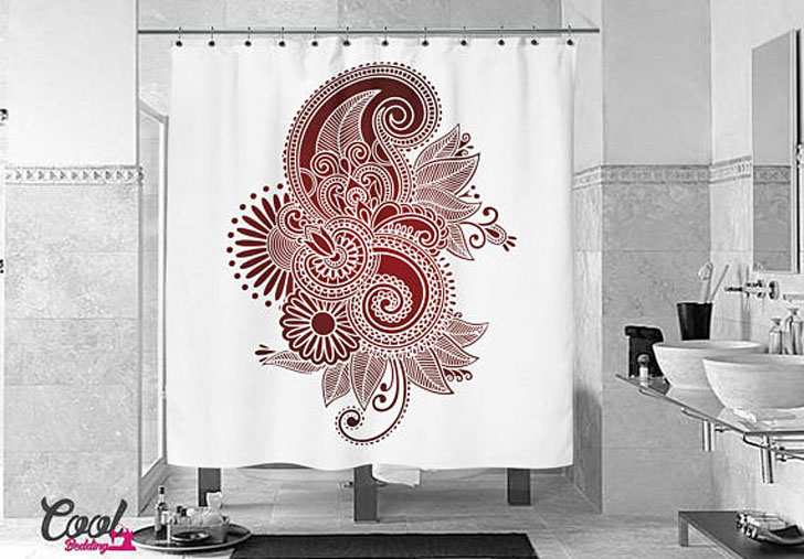 Luxury Mandala Shower Curtain