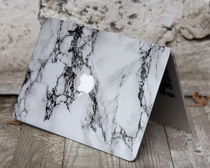 Marble MacBook Cover
