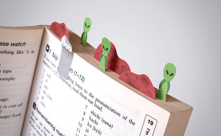 Mars Sticky Page Markers