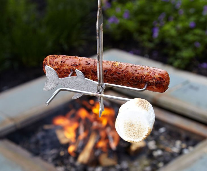 Marshmallow Roasting Fishing Pole