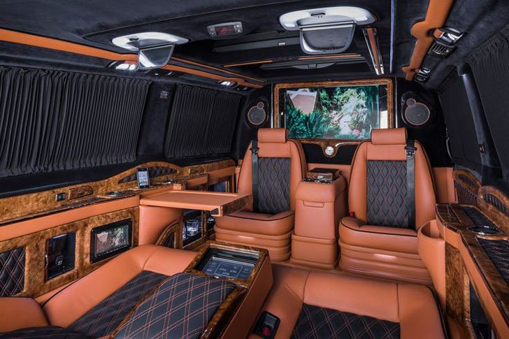 Mercedes Benz Klassen Luxury Limousine Van - Awesome Stuff 365