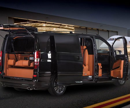 Mercedes benz klassen luxury limousine van awesome stuff 365 for Mercedes benz luxury vans