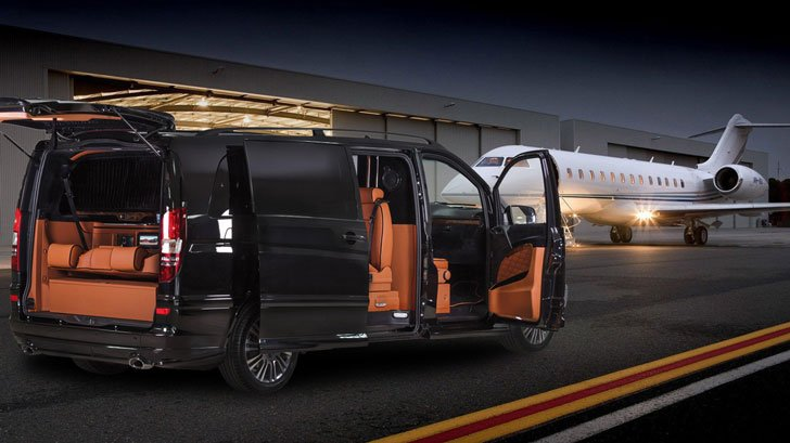 Mercedes benz klassen luxury limousine van awesome stuff 365 for Mercedes benz luxury van