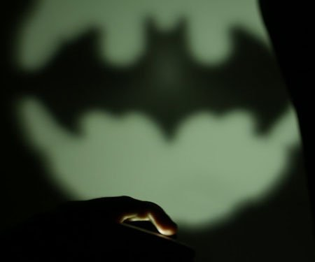 Miniature Batman Signal Smartphone Light
