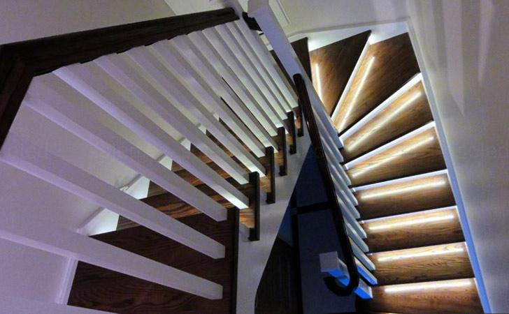 Motion Sensors Stairs Illumination System