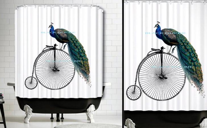 75 Coolest Shower Curtains For A Unique Bathroom