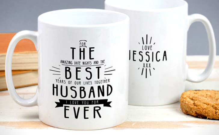 Personalised Best Husband Ever Mug
