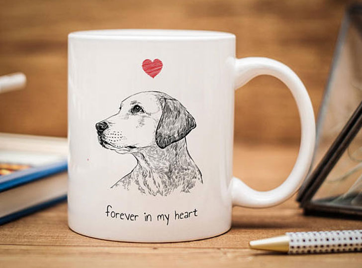 Personalized Pet Portrait Mug