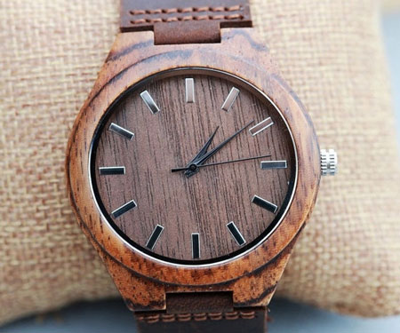 Personalized Wooden Groomsmen Watch