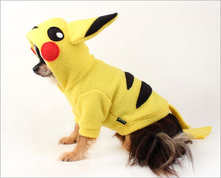 Pikachu Dog Costume