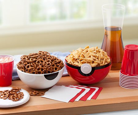 Pokemon Pokeball Serving Bowls