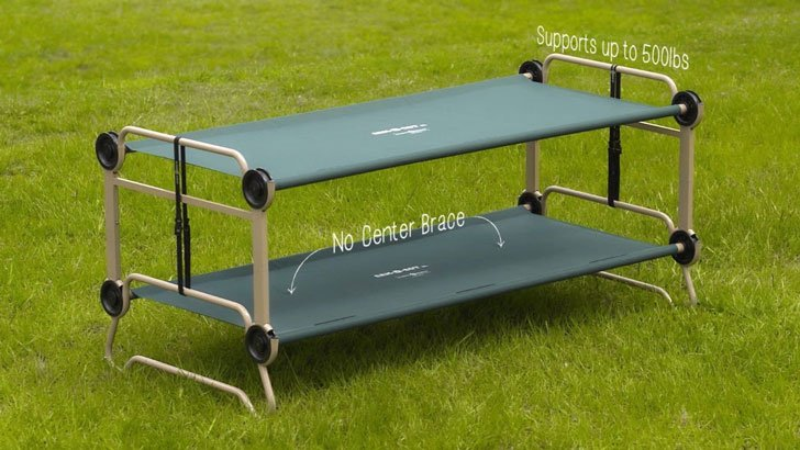 Portable Camping Bunk Bed Sofa Awesome Stuff 365