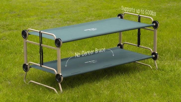 Portable Camping Bunk Bed Sofa