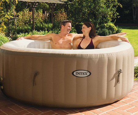 Portable Inflatable Hot Tub