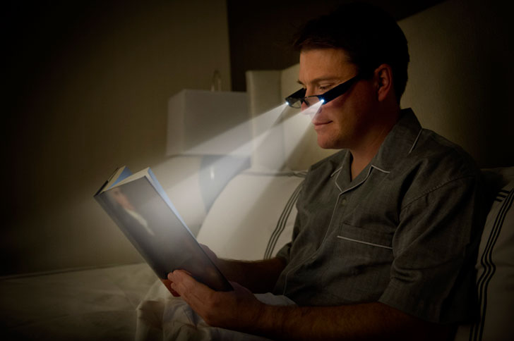 Reading Light Glasses