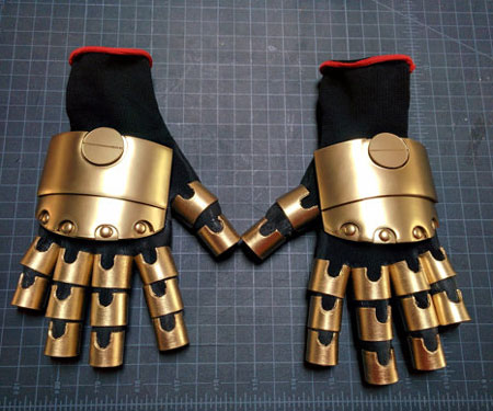 Robotic Hands Mechanical Steampunk Gloves