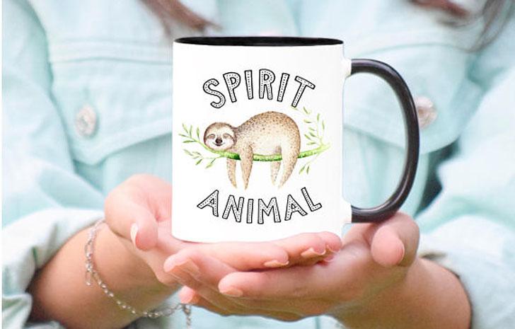 Sloth Spirit Animal Mug