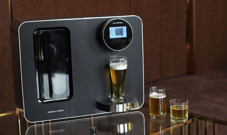 Smart Automated Craft Beer Home Brewery System