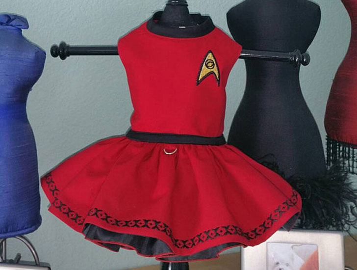 Star Trek Dog Dresses