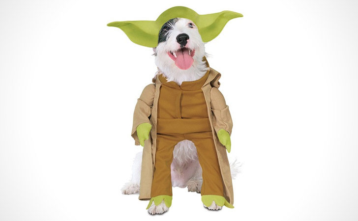 Star Wars Yoda Dog Costume - Pet Costumes For Dogs