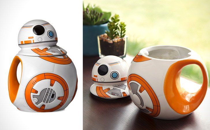 Starwars Bb8 Heat Change Mug With Lid