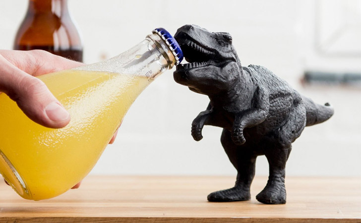 t rex dinosaur bottle opener awesome stuff 365