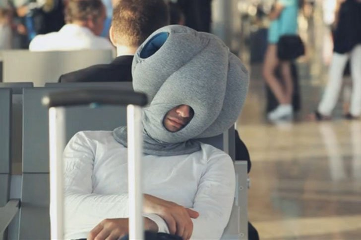 office nap pillow. The Ostrich Napping Pillow Office Nap W